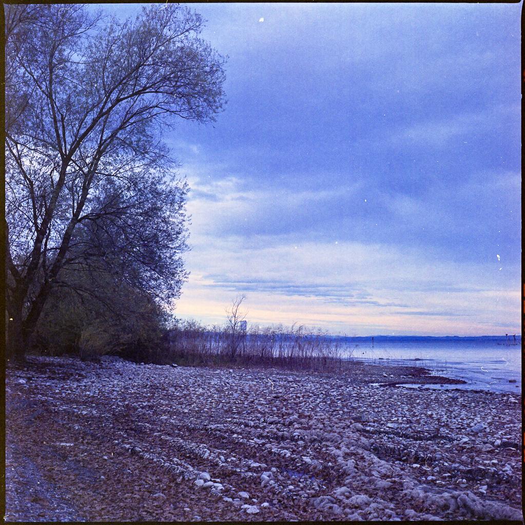 Herbstsee Analog