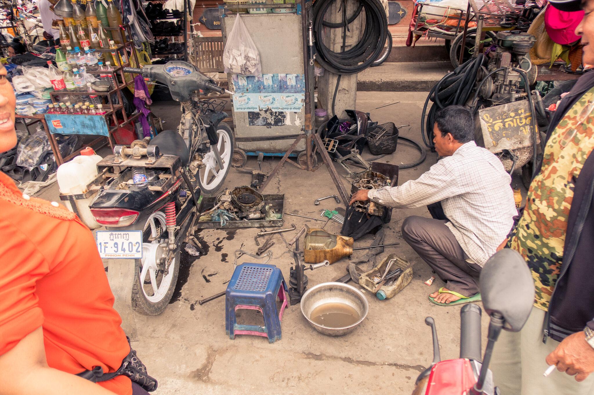Kambodscha: Draussen daheim