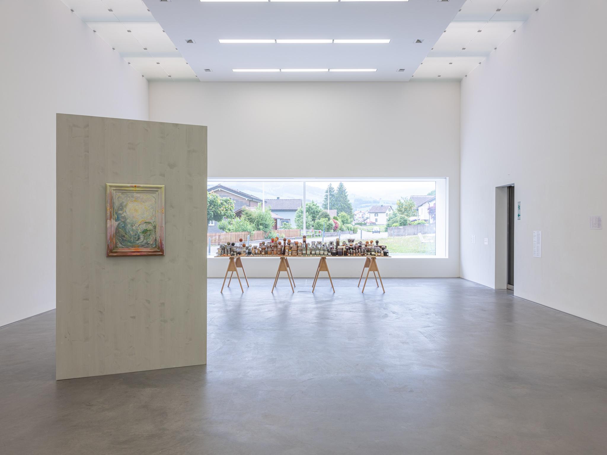 Kunsthalle Ziegelhütte Appenzell – Ausstellung Emma Kunz